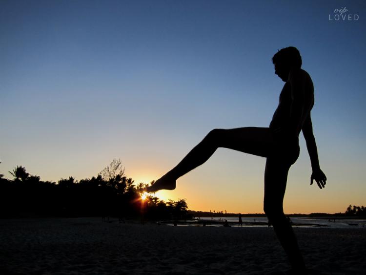 Atardecer en Boipeba Brasil Capoeira