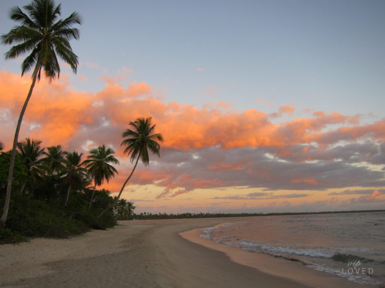 Salida del Sol en Playa Boipeba Brasil